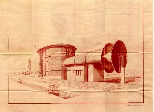 Le projet de soufflerie présenté par l'entreprise Rouzaud et fils en 1936 (IMFT)